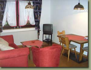 Picture of the interior of the holiday flat
